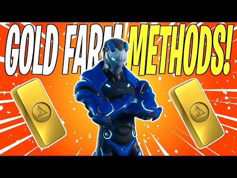 The FASTEST Ways To Farm Gold In STW! | Fortnite Save The World (Fortnite School)