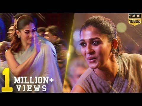 Nayanthara stunning in Saree - Lady Superstar brightens the full auditorium!