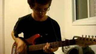 Chronic Future - Apology for non-symmetry guitar cover