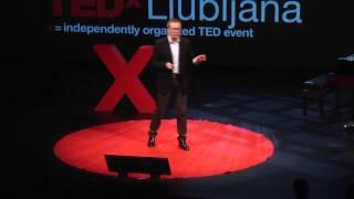 Celebrating failure: Tim Baxter at TEDxLjubljana