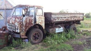 МАЗ 500,переделанный в колхозник,продолжение