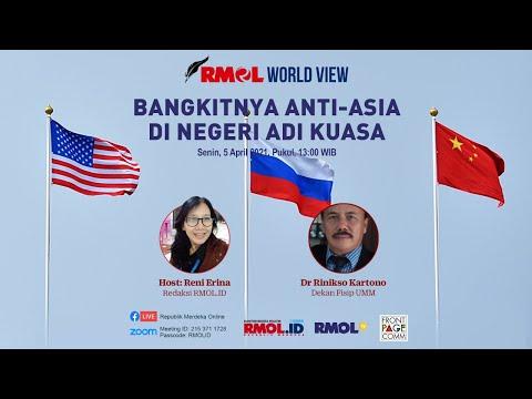 RMOL World View • Bangkitnya anti-Asia di Negeri Adi Kuasa