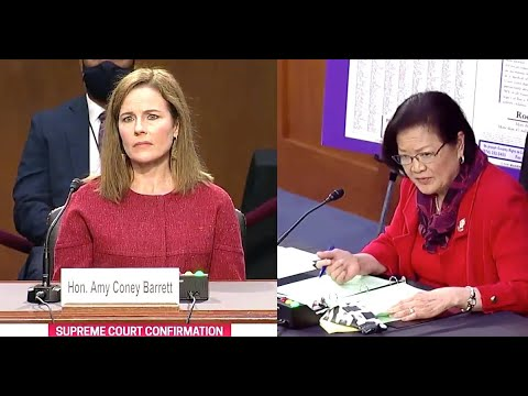 Amy Coney Barrett Chastised For Saying 'Sexual Preference'
