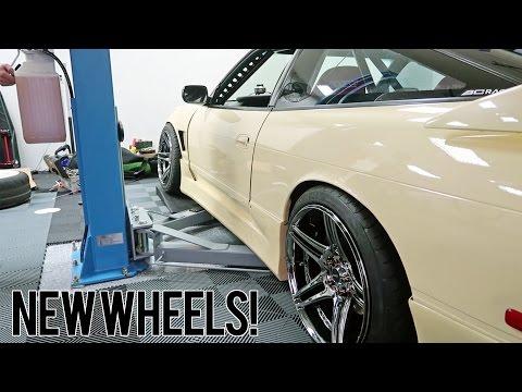 FIXED THE SR20! + New Wheels