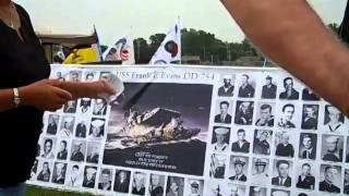 Visiting the traveling Vietnam Wall: June 28, 2014