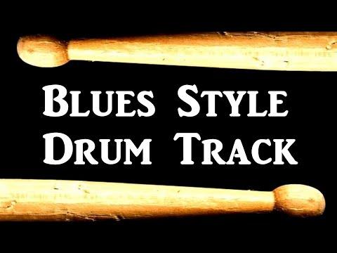Free Drum Backing Tracks: slow blues drum beats free