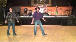 Not Messin' Line Dance Demo - Dan Albro