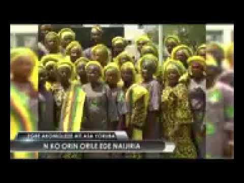 Nigeria National Anthem in Yoruba  - The Lagos State Government