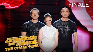 Sandou Trio Russian Bar Place 5th - America's Got Talent: The Champions