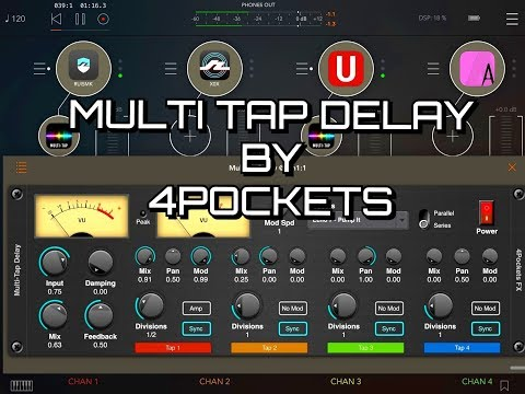 MultiTapDelay AUv3 by 4Pockets - Tutorial & Demo — Audiobus Forum