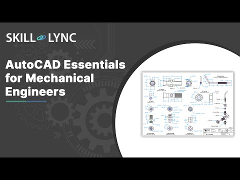 Drafting using AutoCAD, Essentials for Mechanical Engineers ...