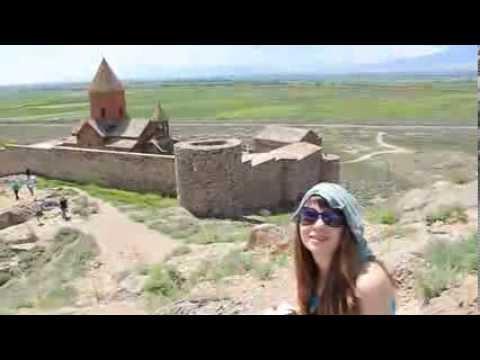 Гора Арарат и монастырь Хор Вирап в Арме