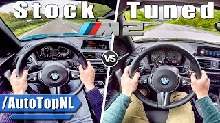 BMW M2 STOCK vs TUNED M2 PP Performance ACCELERATION & SOUND by AutoTopNL