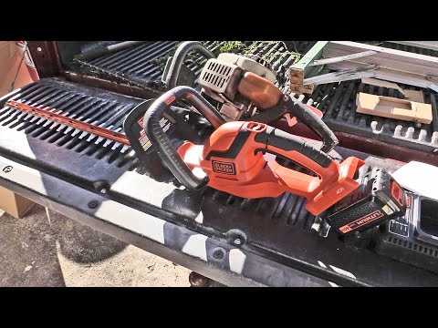 Black & Decker 40V MAX Lithium hedge trimmer review