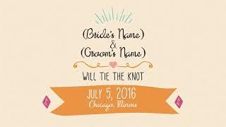 ✅ Destination Wedding And Engagement Wedding Invitation Note