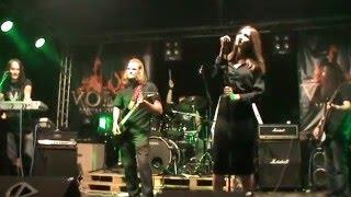 "R Genium   ""I Know Your Lie"" Volga Metal Open Air 2015   22.08.2015"