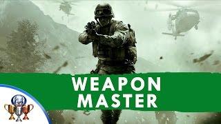 Call Of Duty 4 Modern Warfare Remastered  Weapon Master Each Handheld Gun Explosive & Launcher
