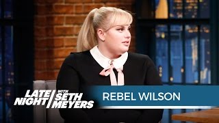 Rebel Wilson on Kissing How to Be Single Extras - Late Night with Seth Meyers