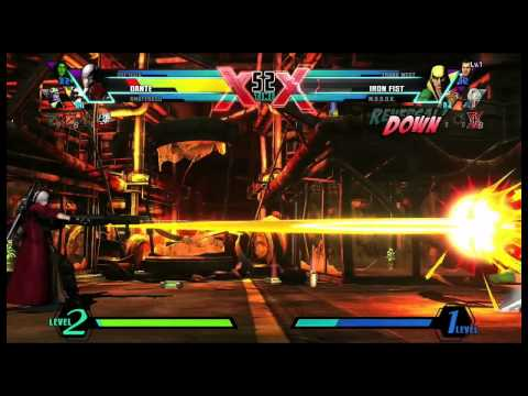 Видео № 1 из игры Ultimate Marvel vs. Capcom 3 (Б/У) [PS Vita]