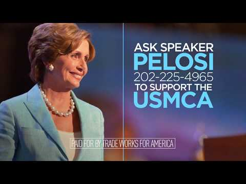 Trade Keeps California Growing. Tell Speaker Pelosi to Support the USMCA
