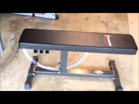 My Home Gym: Review of Powerline PPR200X Power Rack, Ironmaster Super Bench and Adjustable Dumbbells