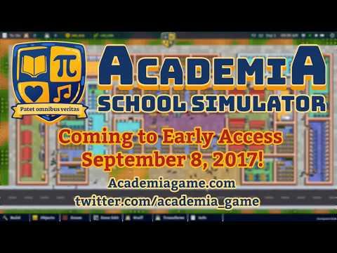 Academia : School Simulator Early Access Trailer thumbnail