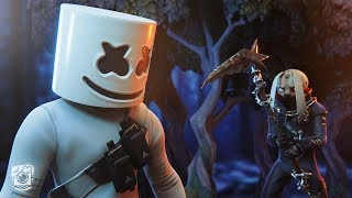 MARSHMELLO HAS A CRAZY FAN?! (A Fortnite Short Film)