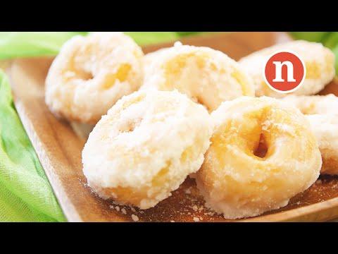 Sweet Potato Donuts   Kuih Keria   Kuih Gelang   Donut Kampung [Nyonya Cooking]