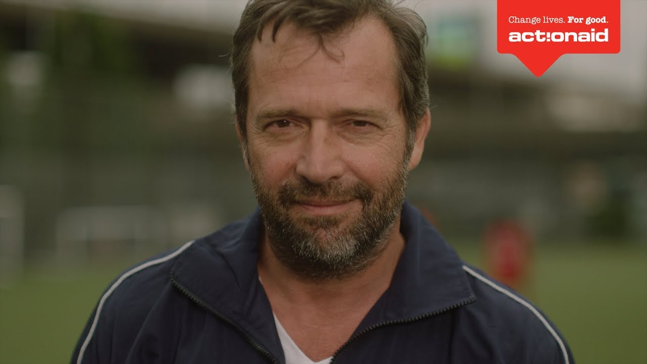 Behind the scenes of Touchline Tactics starring James Purefoy | Fathers' Day | ActionAid UK