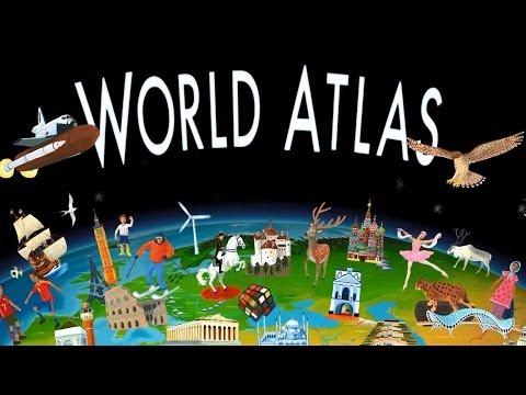 Screenshot of video: Barefoot World Map