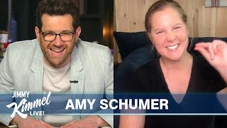 Guest Host Billy Eichner Interviews Amy Schumer – Showing the World Her Difficult Pregnancy