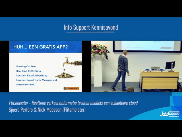 Flitsmeister - Realtime verkeersinformatie leveren middels een…