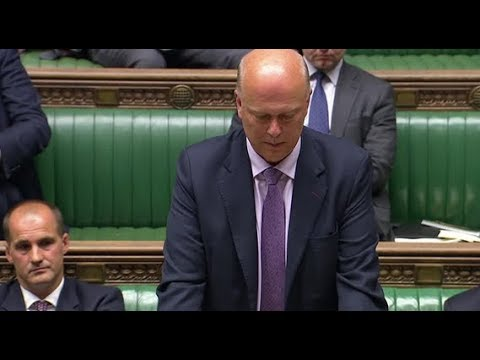 Chris Grayling announces inquiry into rail network disruption