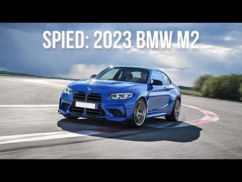 The 2023 BMW M2 Has A Simple Recipe: RWD, Manual Transmission
