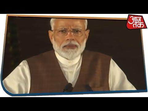 राष्ट्रपति से मिलकर नरेंद्र मोदी ने सरकार बनाने का दावा पेश किया, शपथग्रहण की तारीख तय नहीं