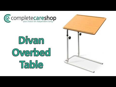 How To Assemble And Adjust The Overbed-Chair Table