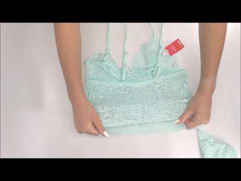 Sexy set Delicanta top & panties - Obsessive