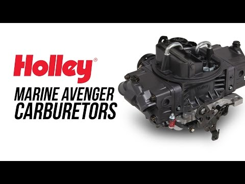 Holley Marine Avenger Carburetors
