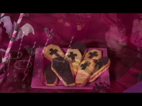 Receita de Halloween : Bolachas caixão Chica Vampiro™