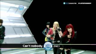 2NE1_0912_SBS Popular Music_CAN'T NOBODY [HD]