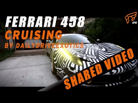 To the Gold Rush 2016 ! The Ferrari 458 W/ iPE Exhaust System