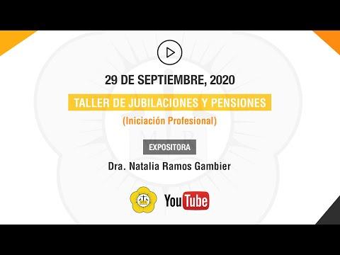 TALLER DE JUBILACIONES Y PENSIONES - 30 de Septiembre 2020