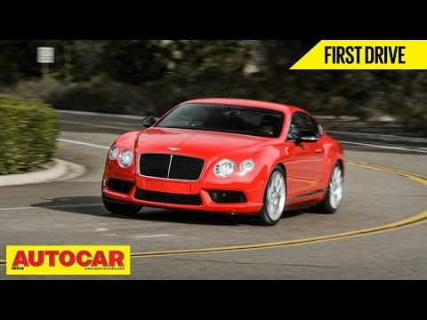 Bentley Continental V8S | First Drive