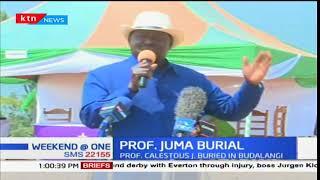 NASA leaders eulogize Professor Calestous Juma at his burial in Budalang'i