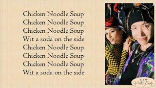 J Hope (BTS 방탄소년단)   Chicken Noodle Soup (feat. Becky G) Easy Lyrics