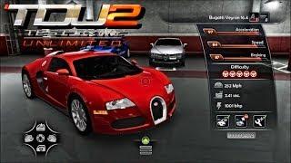 TDU2 - Bugatti EB16.4 Veyron REVIEW