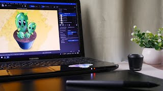huion inspiroy q11k wireless graphic drawing tablet - TH-Clip