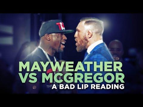 Špatně odezíraná tiskovka: Mayweather vs. McGregor