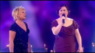 Gambar cover Susan Boyle performs Duet with Elaine Paige (13th / Dec / 09)