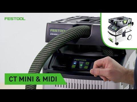 Festool TV Folge 141: Kompaktsauger CT MINI und MIDI